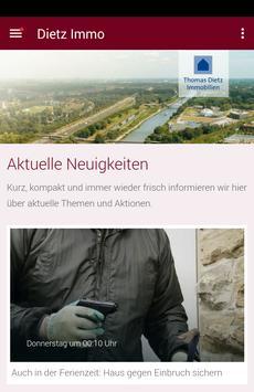 Thomas Dietz Immobilien poster