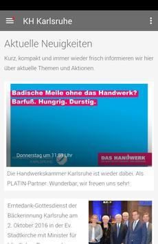 KH Region Karlsruhe poster