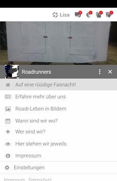 Roadrunners Fasnachtsverein apk screenshot