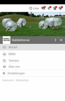 Bubble Soccer apk screenshot