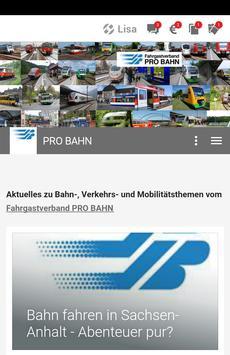 PRO BAHN poster