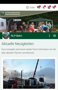 IG Nationalparkbahn Hunsrück poster