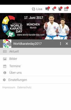Worldkarateday2017 apk screenshot