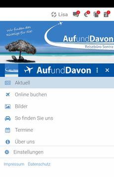 Reisebüro Auf und Davon screenshot 1