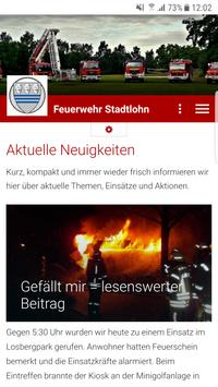 Feuerwehr Stadtlohn apk screenshot