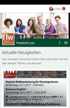 Friedrich-List-Weiterbildung poster