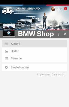 BMW Shop screenshot 1