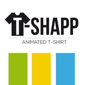 Tshapp animated T-shirt icon