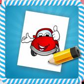How To Draw :Cartoon Cars icon