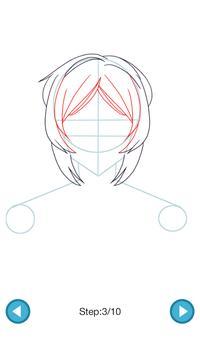 How To Draw :Anime Girls screenshot 3