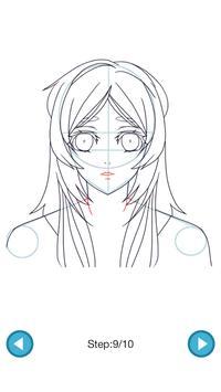 How To Draw :Anime Girls screenshot 4