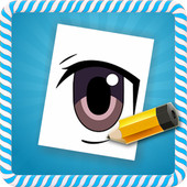 How To Draw :Anime Eyes icon