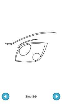 How To Draw :Anime Eyes screenshot 4