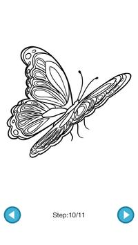 How To Draw :Butterflies screenshot 4