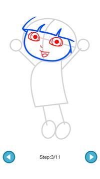 How To Draw :Dora & Diego screenshot 3