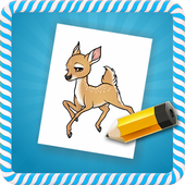How To Draw :Deers icon