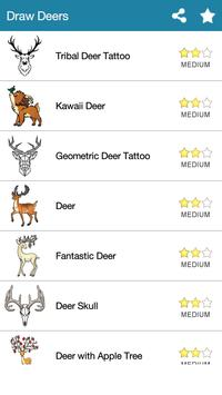 How To Draw :Deers poster