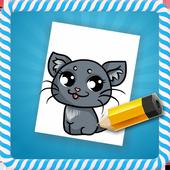How To Draw :Kawaii Animals icon
