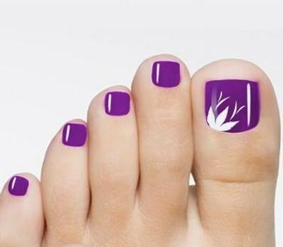 Toe nail design screenshot 6