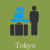 Tokyo Hotels and Flights icon