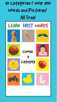 Learn First Words poster