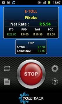 Toll Track SA (South-Africa) poster