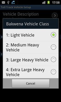 Toll Track SA (South-Africa) screenshot 2