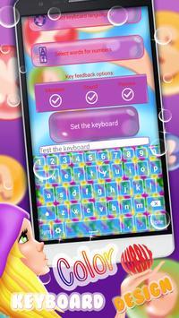 Color Bubble Keyboard Themes screenshot 2