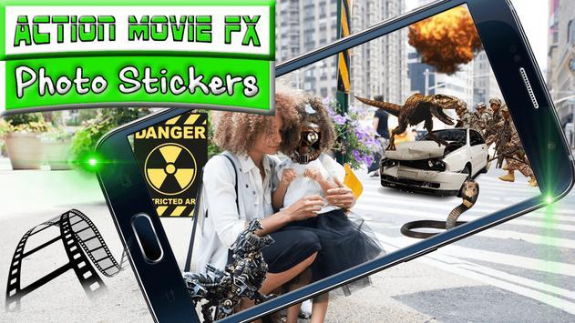 Action Movie FX Photo Stickers apk screenshot