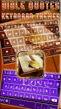 Bible Quotes Keyboard Themes poster