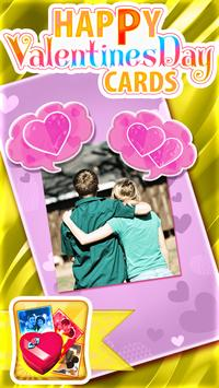 Happy Valentines Day Cards poster