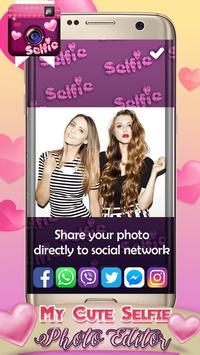 My Cute Selfie Photo Editor apk screenshot