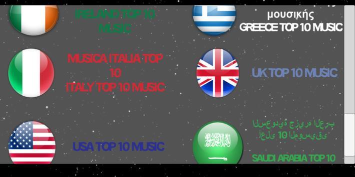 🎼 Best Top 10 Music 🎵 screenshot 1
