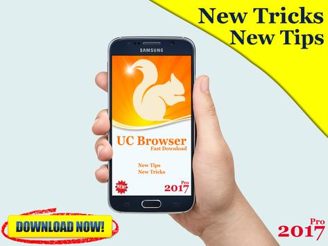 Tips UC Browser Fast 2017 poster