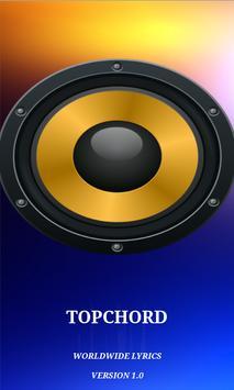 TopChord - Secular Lyrics App poster