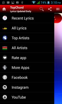 TopChord - Secular Lyrics App screenshot 5