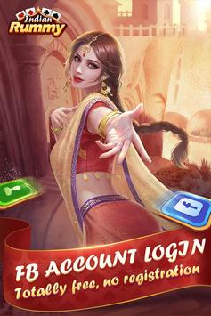 Indian Rummy-free card game online poster