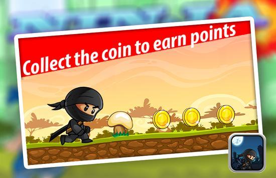 Ninja Kid Adventure apk screenshot