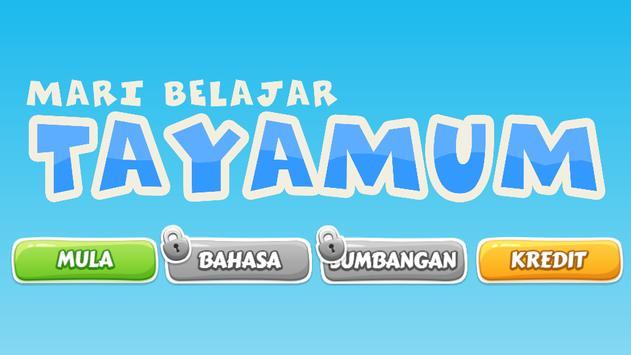 Tayamum poster