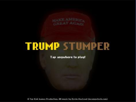 Trump Stumper poster