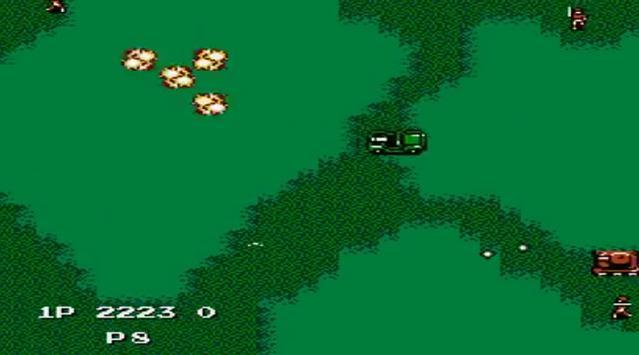 Jackal Nes capture d'écran 4