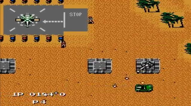 Jackal Nes capture d'écran 5