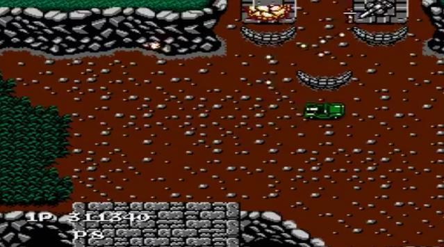 Jackal Nes capture d'écran 2
