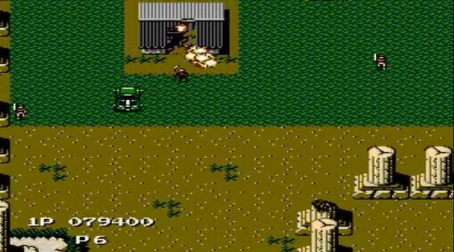 Jackal Nes capture d'écran 3