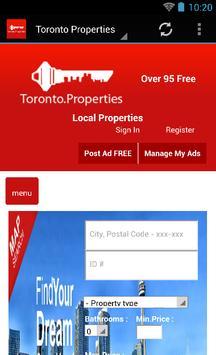 Toronto Properties poster