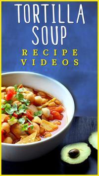 Tortilla Soup Recipe poster