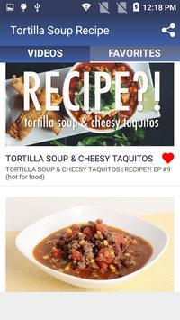 Tortilla Soup Recipe screenshot 1
