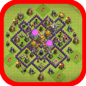 Town Hall 7 Base Layouts icon