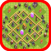 Town Hall 5 Base Layouts icon