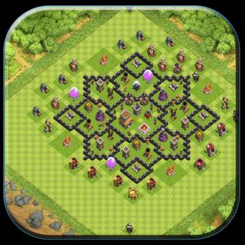 Town Hall 8 Base Layouts screenshot 8